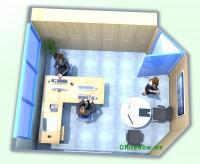 Vicinanze Milano Malpensa: ufficio arredato, ampia scrivania a L, sedie operative con schienale alto, eventuale tavolino per ospiti, sedie per ospiti, cassettiera, ben 6 comode ante a parete per archiviazione.