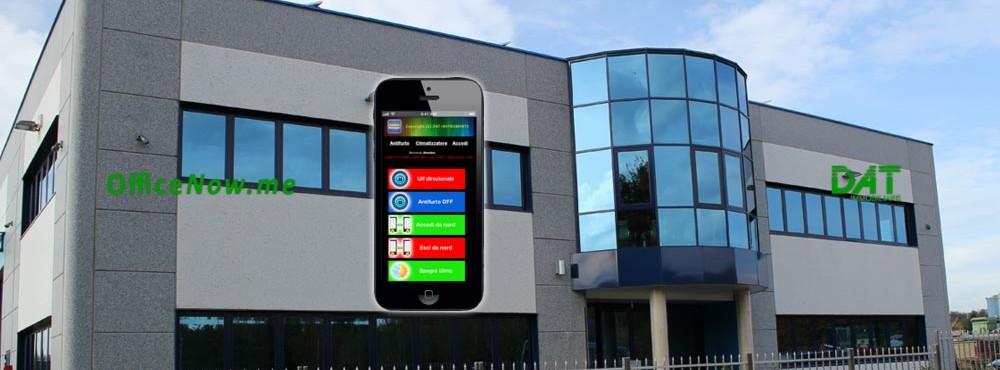 OfficeNow, uffici arredati, business center, coworking. L'accesso alla struttura è semplice, tramite smartphone, con innovativo sistema domotico Control Manager.