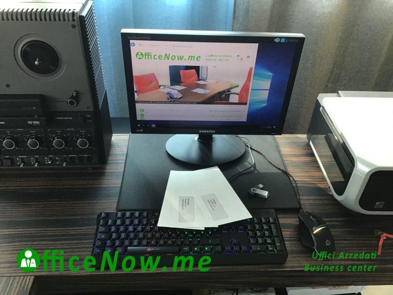 OfficeNow business center e telelavoro, ricezione pacchi e lettere, invio a casa.