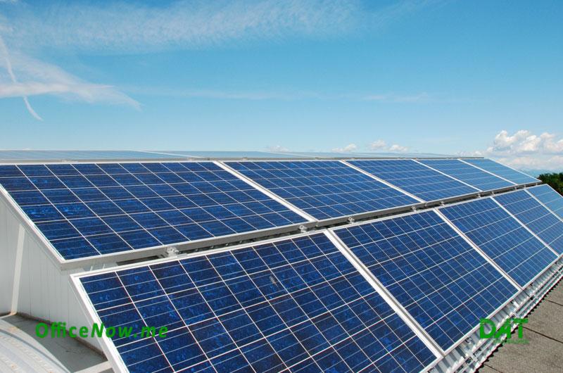 OfficeNow, business center, coworking, Malpensa, Milano, Varese, Gallarate, Busto Arsizio. La struttura è dotata di impianto fotovoltaico, pompa di calore e sistema Control Manager per la sostenibilità ambientale.