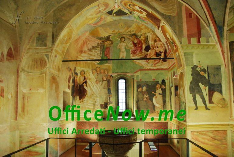 OfficeNow business center, meeting aziendale e UNESCO, battistero, Castiglione Olona, sala riunioni, affitto sala riunioni