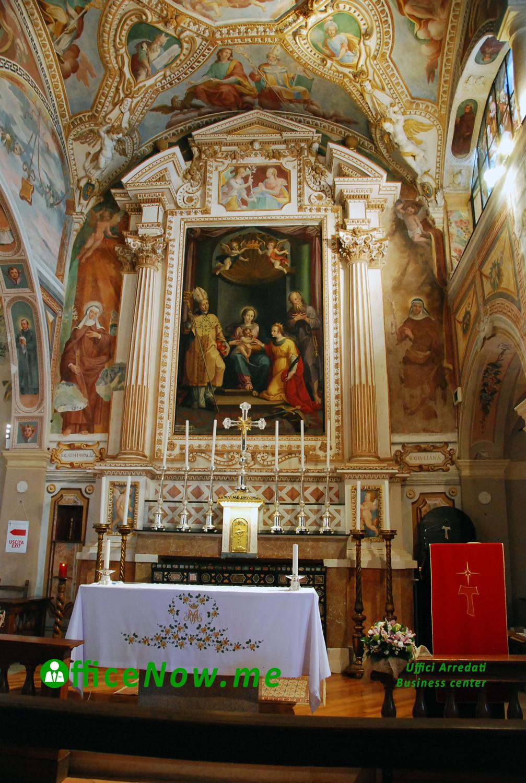 OfficeNow business center, uffici arredati, Eremo Santa Caterina del Sasso, altare maggiore