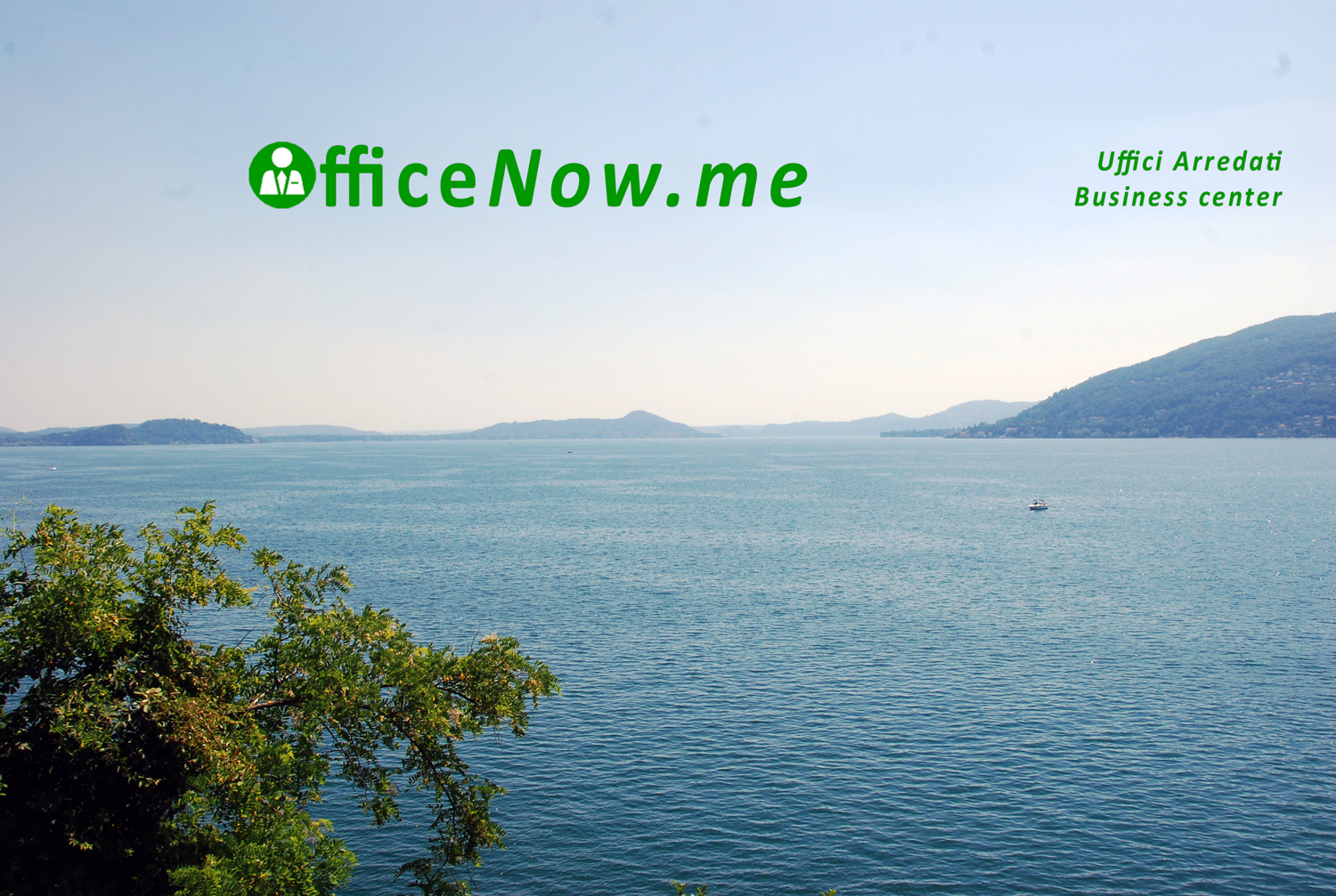 OfficeNow, business center, Lago Maggiore, uffici arredati