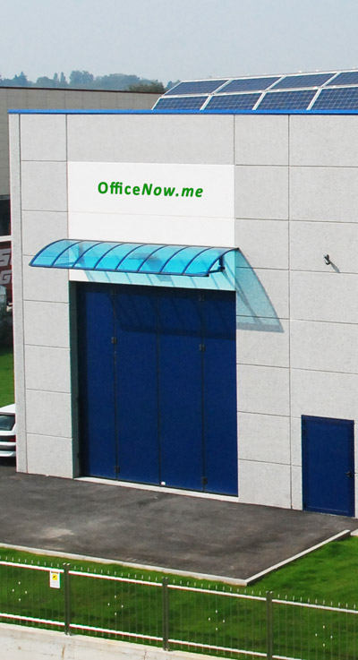 OfficeNow, business center zona Malpensa, Milano, Varese, Gallarate, Busto Arsizio. Oltre agli uffici arredati, è possibile affittare spazi in magazzino, deposito, storage. Magazzino Milano affitto, per europallet formato 80x120 e 100x120 cm, disponibilità carrello elevatore.