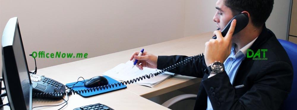 OfficeNow, uffici arredati Varese, business center Varese, coworking Varese. Gli uffici sono già arredati, con scrivania, sedia, 2 sedie ospiti, cassettiera, ante a parete per archivio.