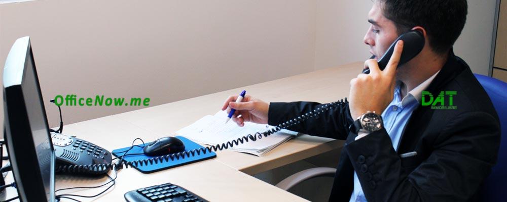 OfficeNow, uffici arredati Varese, business center Varese, coworking Varese. Gli uffici sono già arredati, con scrivania, sedia operativa, sedie ospiti, cassettiera, ante a parete per archivio.